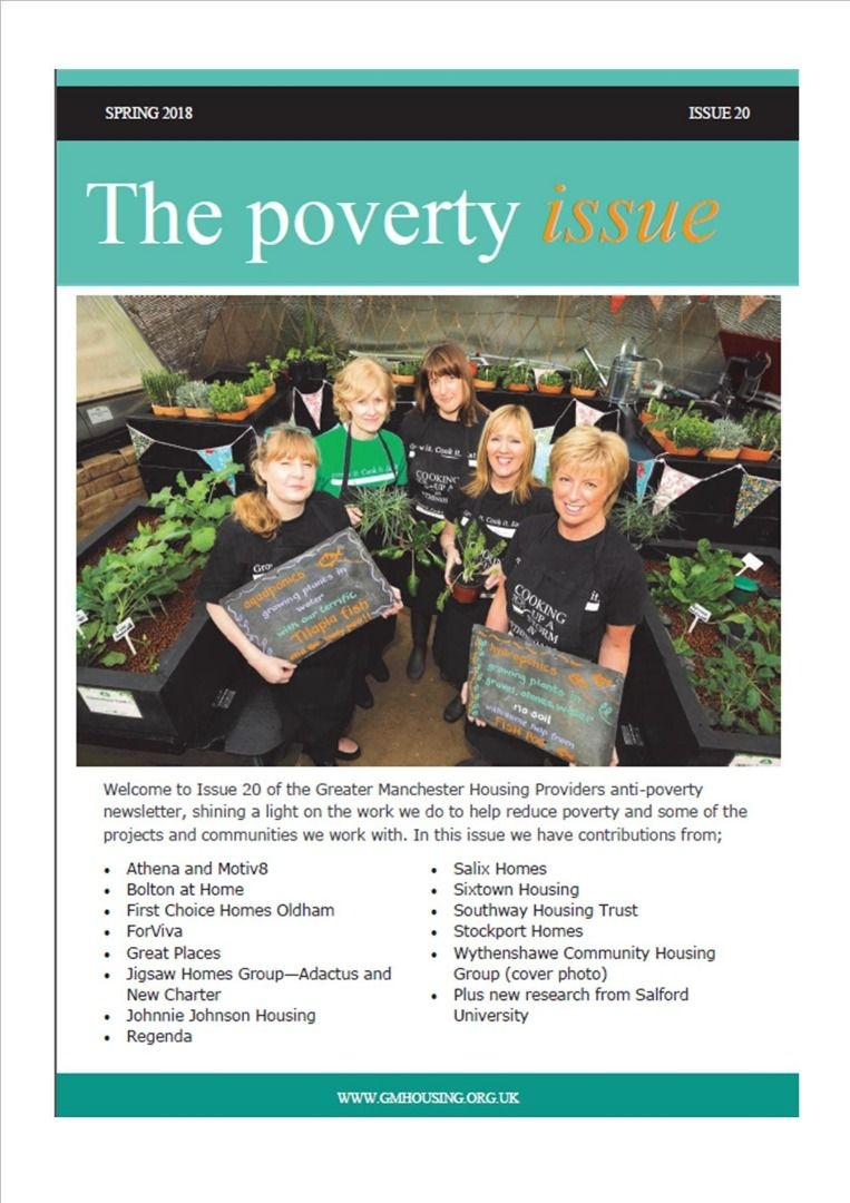 Greater Manchester Housing Providers Anti Poverty Newsletter