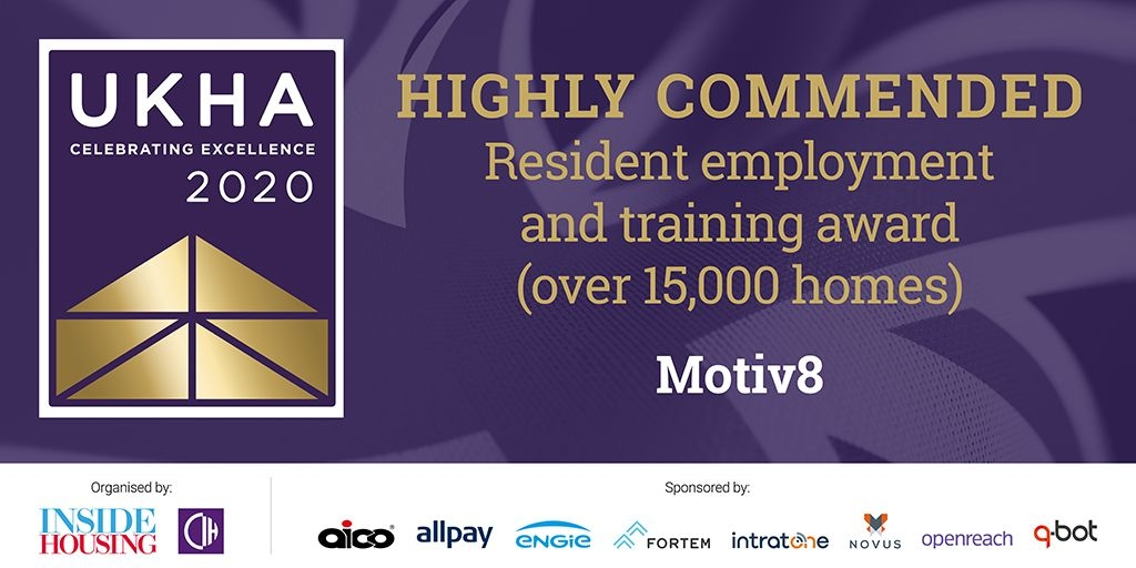 Motiv8 Highly Commended at UKHA